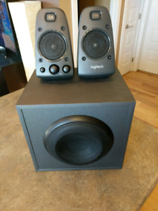 Logitech pC speakers with sub