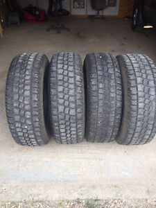 TWO SETS OF GREAT TIRES 265/75/16
