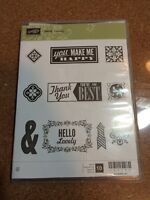 Stampin Up Stamp Set- hello lovely