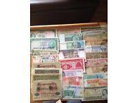 World Banknotes job lot
