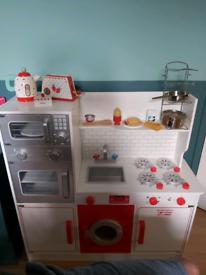 Childrens play kitchen