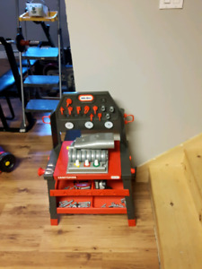 Work bench for kids