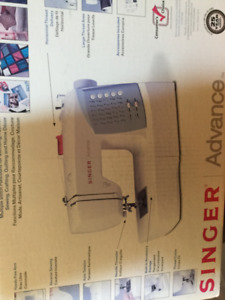 Brand New Singer Advance Sewing  Machine! Never used!
