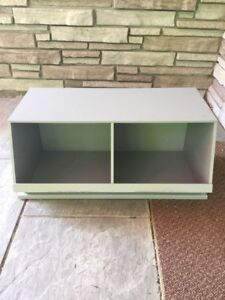 Cubby storage for toys or mudroom