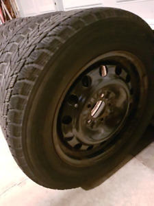 Toyo winter tires and rims set