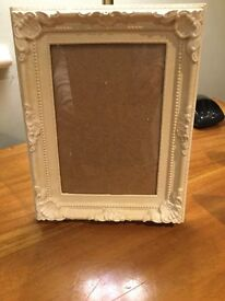 """Shabby chic picture frame 7"""" x 9"""" two available"""