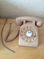 Téléphone à roulette Bell beige