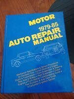 Auto Repair Manual 1979-85 Hearst Book Great Condition