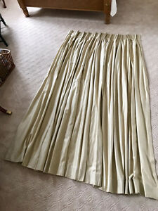 High Quality Pleated Curtains - $100