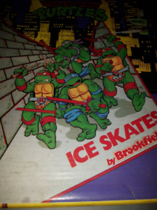 Vintage Teen Age Mutant Ninja Turtles Ice Skates