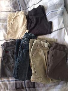 Lot 6 paires pantons 5-6 ans enfant garçon gars printemps automn