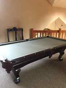 Slate pool table in mint condition