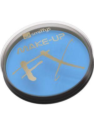 Aquamarinblau Gesicht Körper Farbe Schlumpf Make-Up Kostüm 16ML