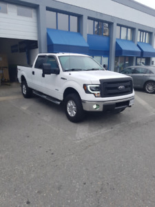 2013 Ford F-150 Crew Cab, 4x4, 96,000kms