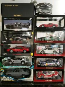 1:18 Diecast Autoart Fast and Furious Aston Martin Porsche