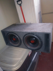 Hifonics zeus,12 inch red line high end subs,Milton