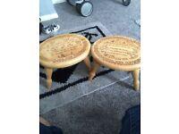 Wooden children stools