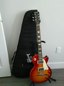 2006 Epiphone Les Paul Standard w/ Gibson bag, and stand