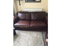 FREE Leather sofa 3&2