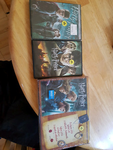 Harry Potter dvds in perfect condition