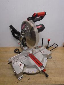 Craftsman 12inch compound miter saw with laser trac