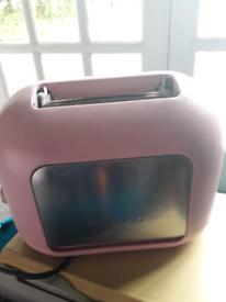 Pink kenwood toaster