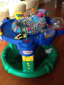 Evenflo Portable Ultrasaucer / baby saucer, great condition