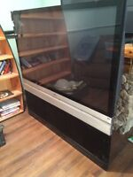 """RCA 63"""" HDTV with built in DVD"""