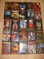 horror dvd collection $30.00 for all