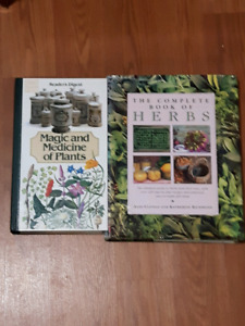 Two  herbs books