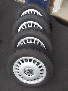 4 Toyo observe winter tires with reams and covers Lake New VW