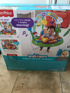 Brand new in box Fisher Price laugh and learn jumperoo