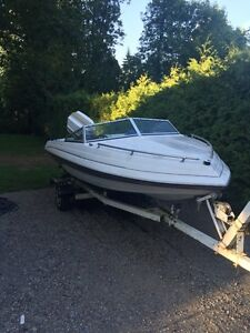 16' Peterborough Mistress 75hp w/trailer