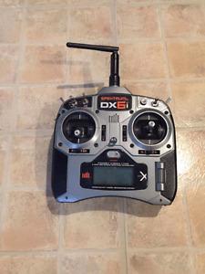 Manette dx6i et simulateur