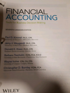 Financial Accounting Tools for Business Decision Making 7th ed.