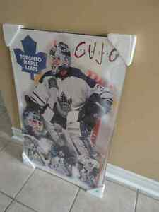 Brand new wooden Toronto Maple Leafs wall hanging decorative London Ontario image 2