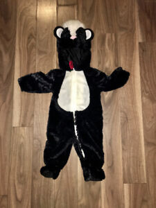 Skunk Halloween costume 6-9 months