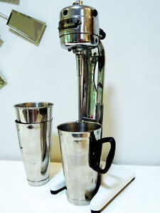 1923 SODA FOUNTAIN milkshake maker GILCHRIST Newark NJ +3 SScups