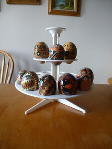 Ukrainian Easter Egg Display Stand