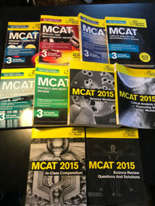 MCAT Study Books: The Princeton Review