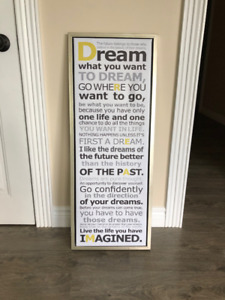 Dream What You Want To Dream - Print