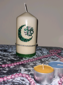 Eid Medium Pillar Candle