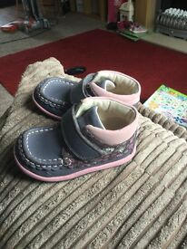 Girls Toddler Clarks 4.5F First Shoes