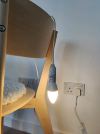 IKEA Knubbig Light fitting including 400lumen bulb