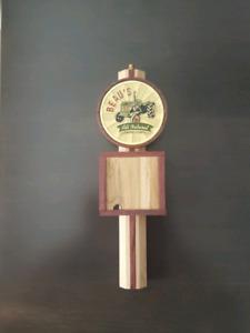Beau's beer tap handle