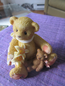 "Cherished Teddies Lily ""Lilies Bloom With Petals Of Hope"""