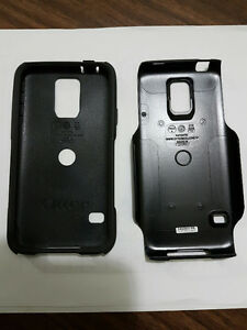 Samsung S5 OtterBox Commuter with Leather case