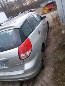 2003 toyota matrix fwd for parts only
