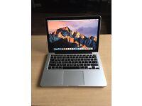 "MacBook Pro Late 2013 A1502 13"" Core i5 2.4GHz 4GB RAM, 128GB SSD."