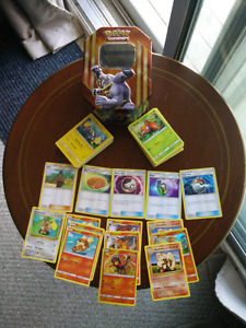 Pokemon Cards- Litten and Friends with Collectible Tin!